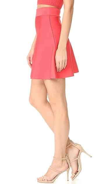 Cushnie Et Ochs Mini Circle Skirt