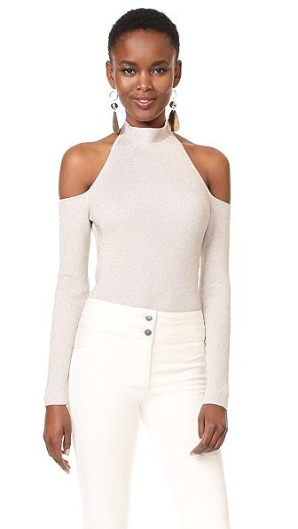 Cushnie Et Ochs Cold Shoulder Bodysuit