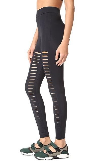 Cushnie Et Ochs Sliced Cutout Leggings
