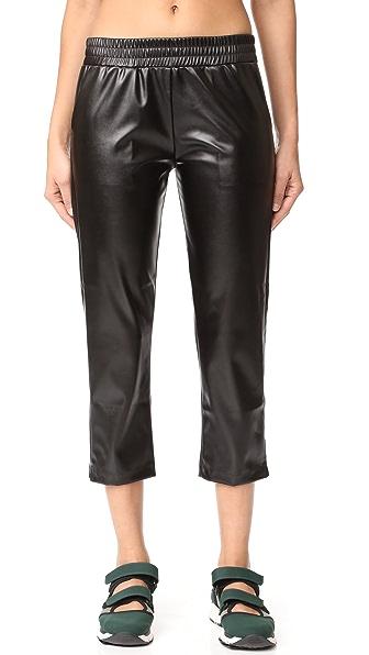 Cushnie Et Ochs Faux Leather Pants