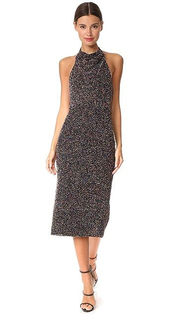 Cushnie Et Ochs Sleeveless Beaded Dress