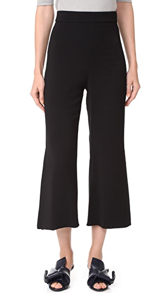 Cushnie Et Ochs Cropped Pants - Black