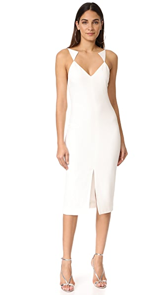 Cushnie Et Ochs Sleeveless Midi Dress - White