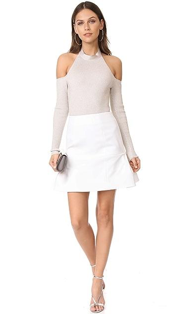 Cushnie Et Ochs Fit & Flare Skirt