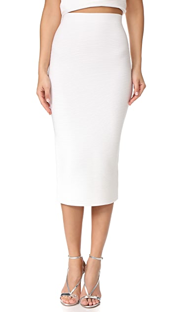 Cushnie Et Ochs Fitted Midi Skirt