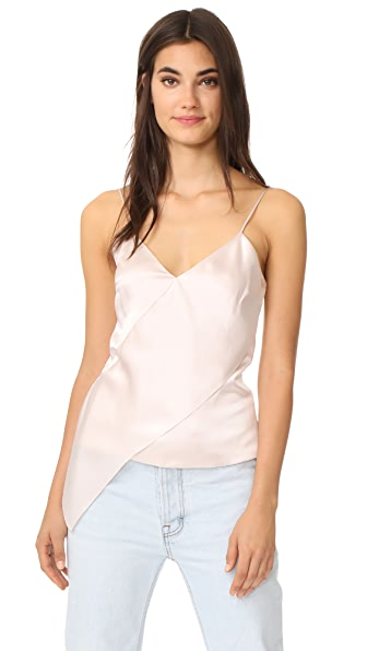 Cushnie Et Ochs Cami with Sash Panel - Nude