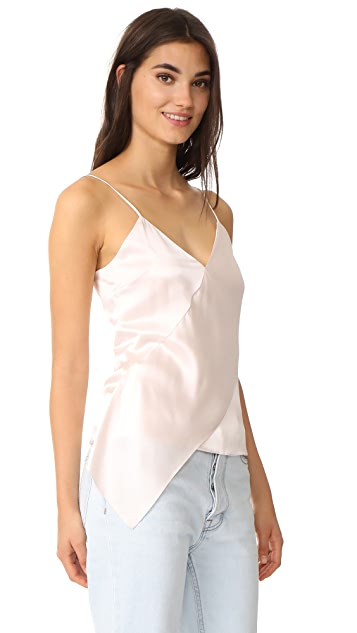Cushnie Et Ochs Cami with Sash Panel