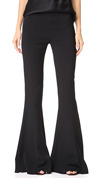 Cushnie Et Ochs High Waist Pants In Black