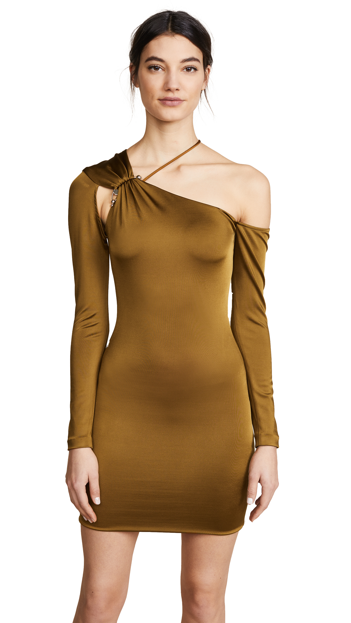 Cushnie Et Ochs Sasha Cold Shoulder Dress