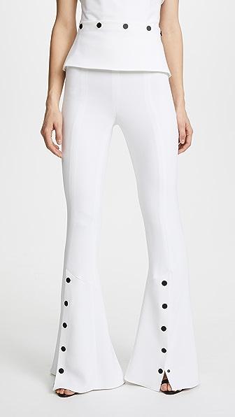 Cushnie Et Ochs Расклешенные брюки Emma