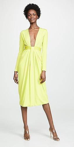 f4e9ece5ea Cushnie Long Sleeve Dress