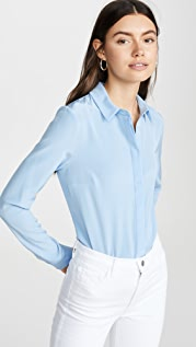 Cushnie Блуза на пуговицах