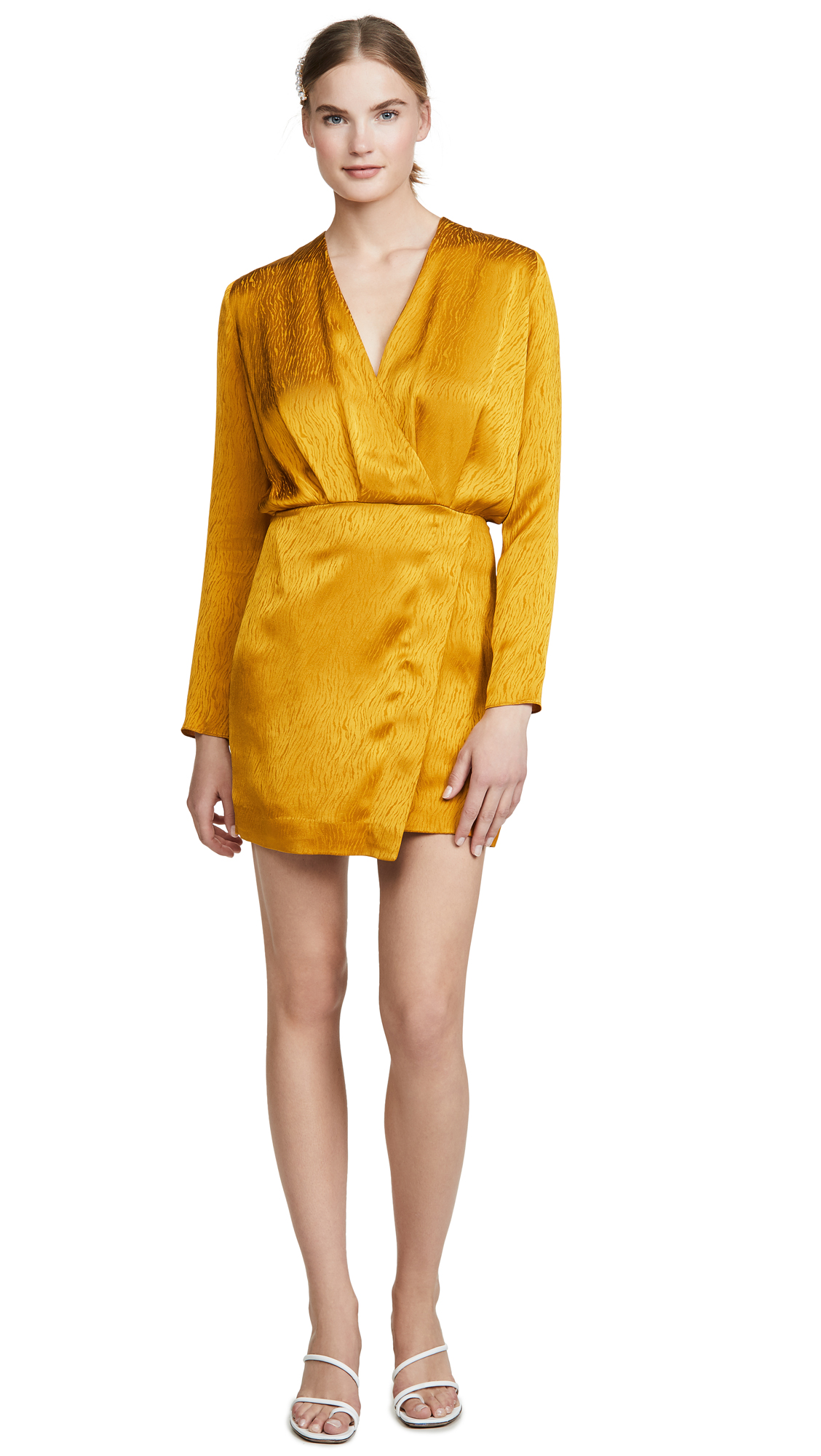 Buy Cushnie online - photo of Cushnie Mini Dress with Blouson Top