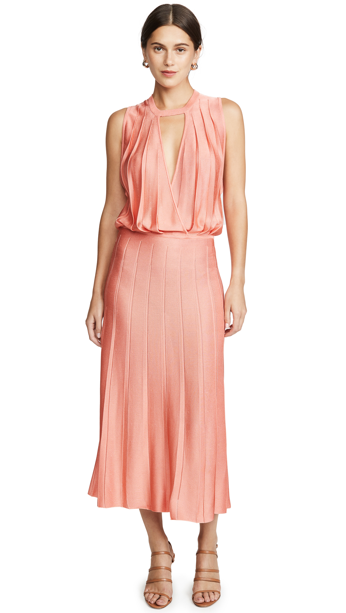Buy Cushnie online - photo of Cushnie Sleeveless Midi Dress