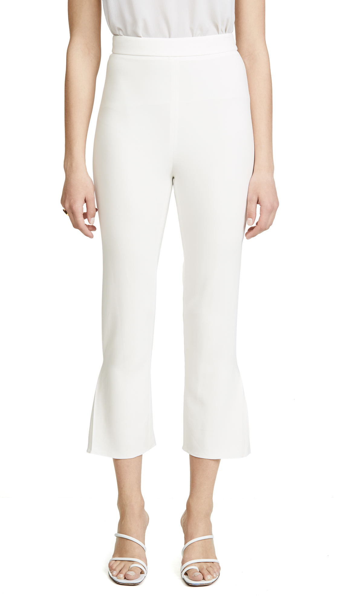 Buy Cushnie online - photo of Cushnie High Waisted Cropped Fitted Pants