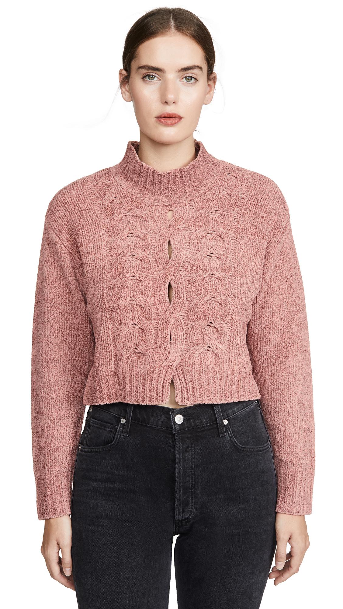 Buy Cushnie online - photo of Cushnie Long Sleeved Mock Neck Sweater