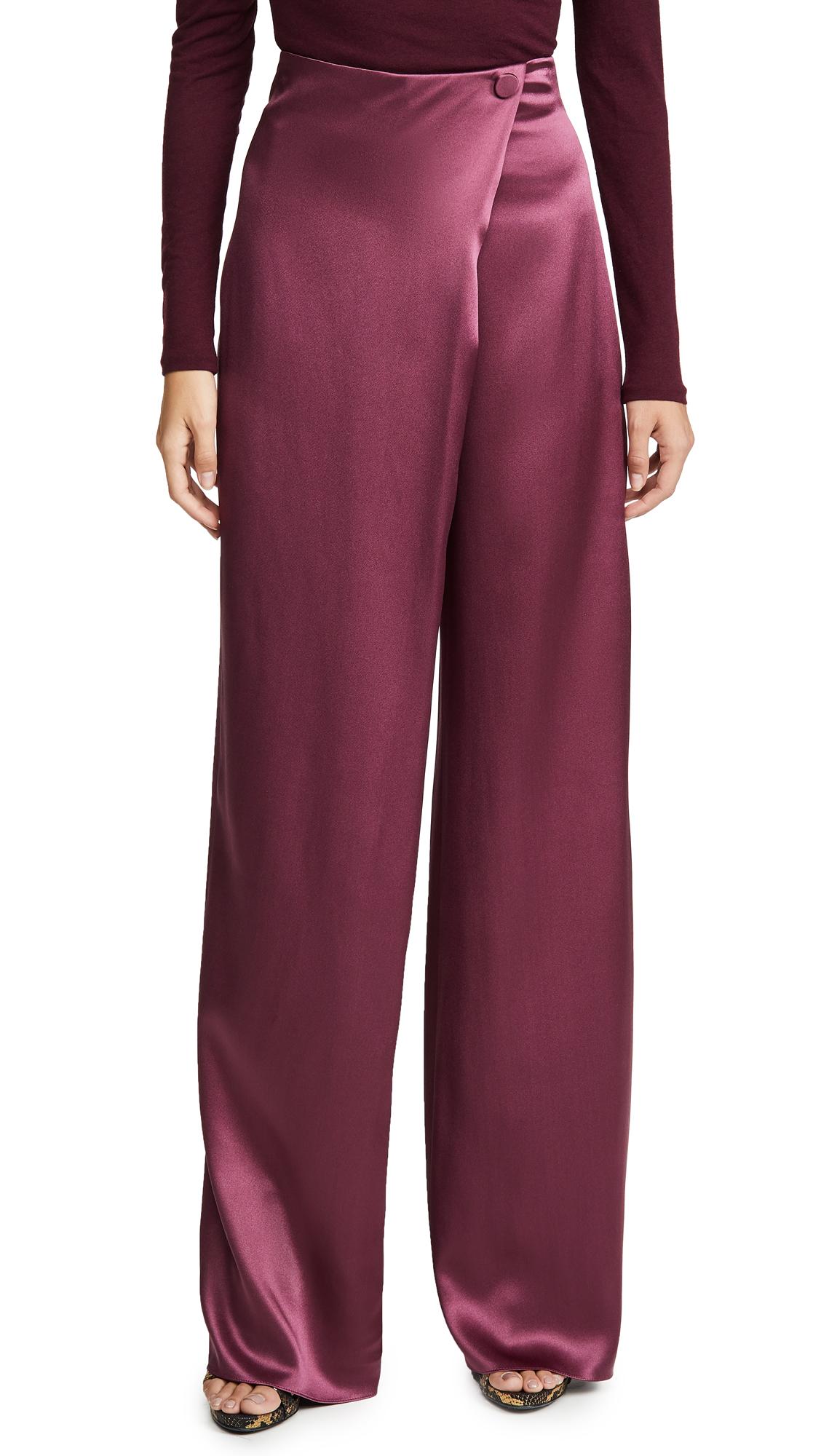Buy Cushnie online - photo of Cushnie High-Waisted Wide Leg Pants