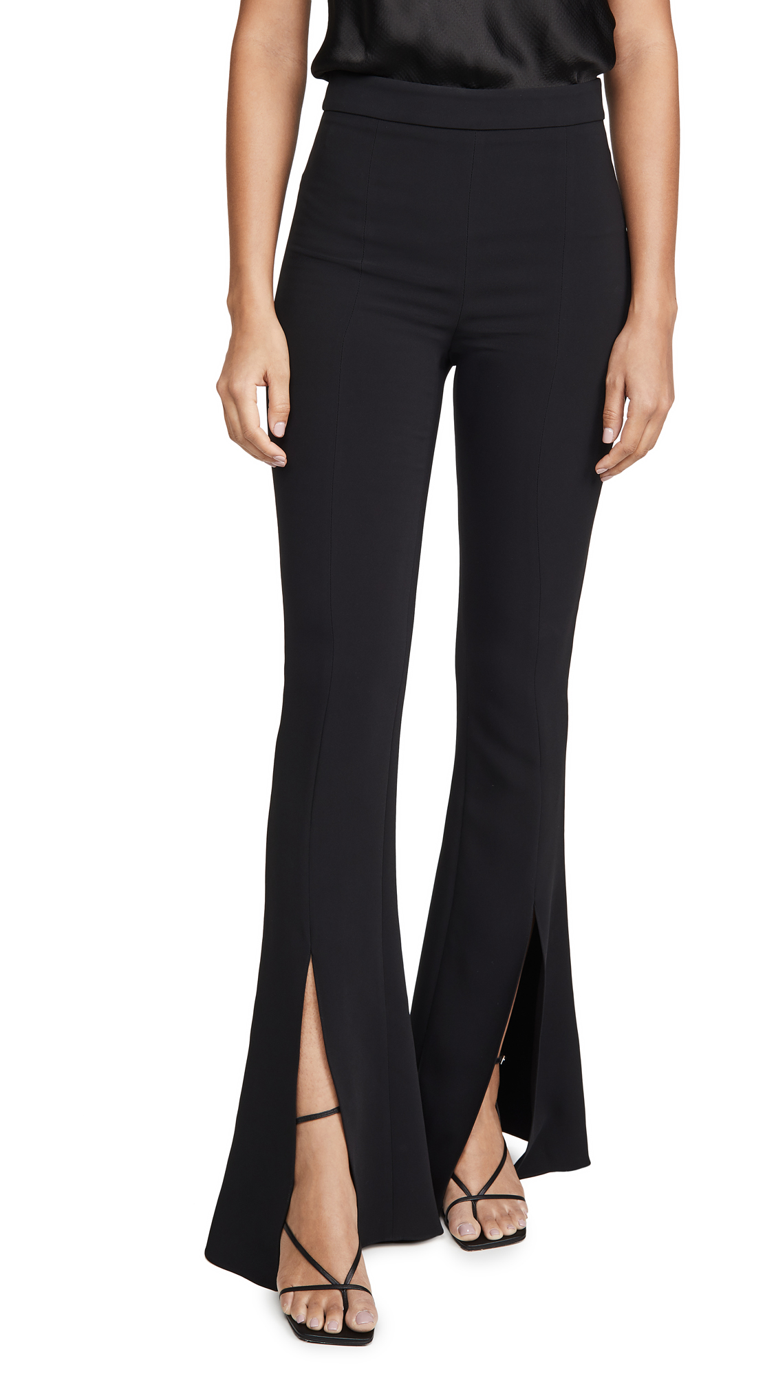 Buy Cushnie online - photo of Cushnie High Waisted Slim Flare Pants