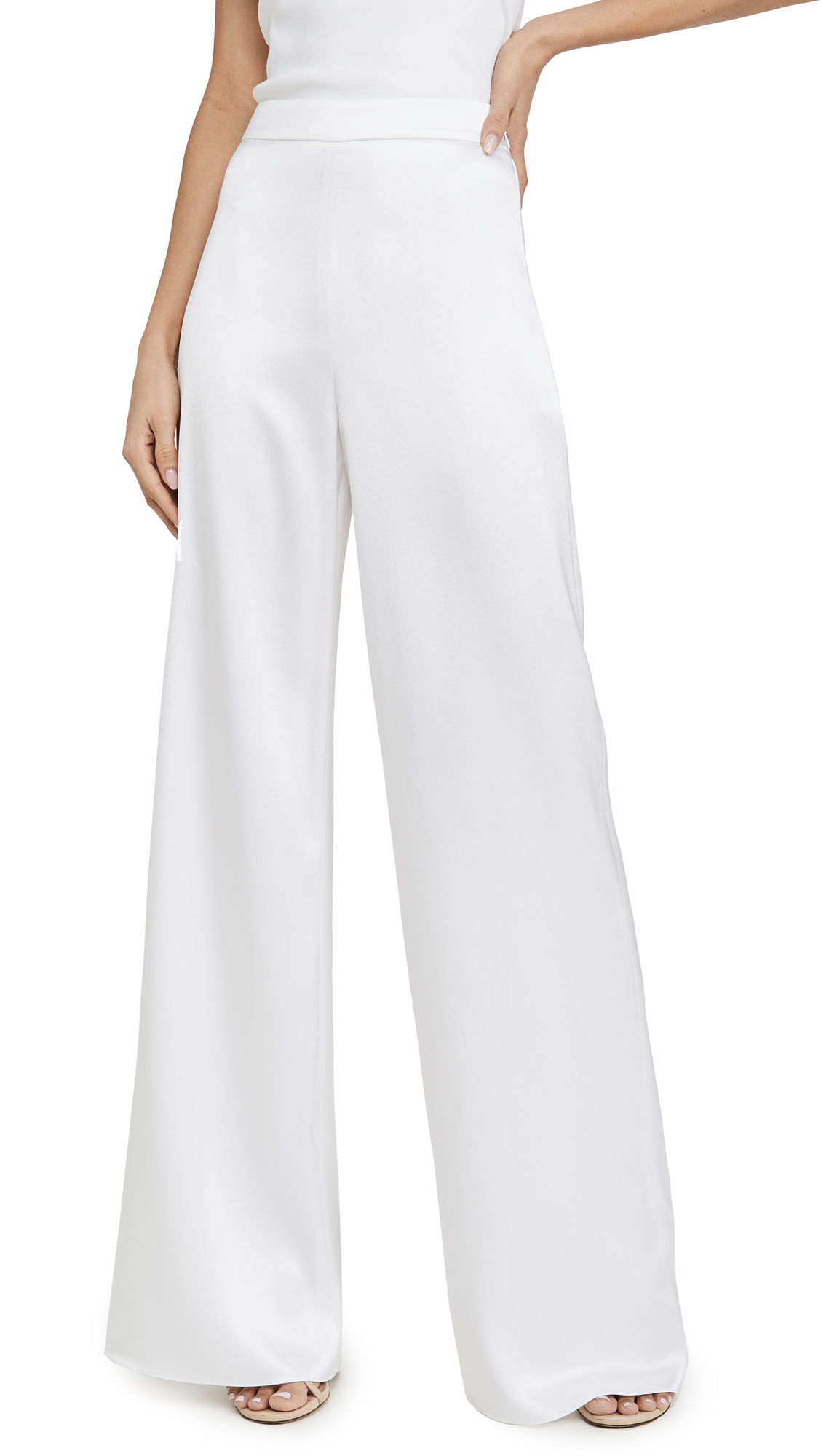 Buy Cushnie online - photo of Cushnie High Waisted Wide Leg Pants