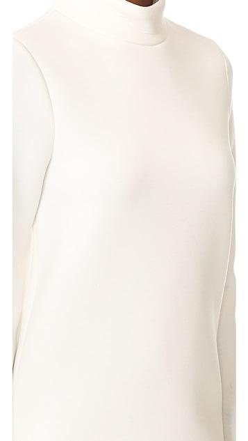 Cynthia Rowley Double Knit Turtleneck Dress