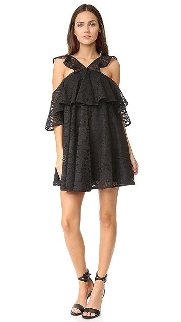 Cynthia Rowley Lace Trapeze Dress