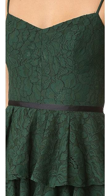 Cynthia Rowley Ruffle Lace Dress