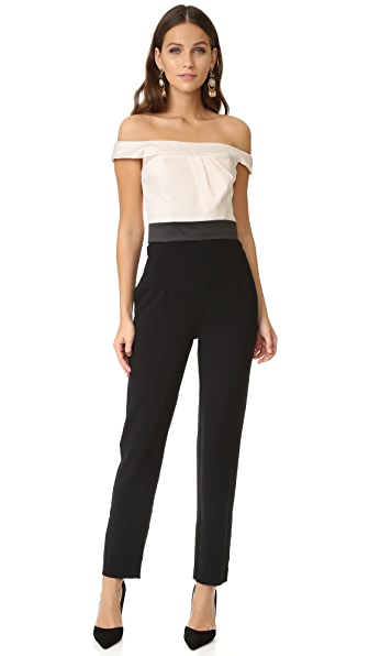 Cynthia Rowley Off Shoulder Jumpsuit