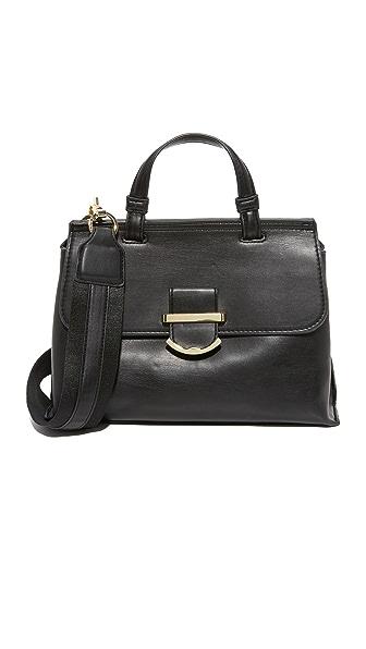 Cynthia Rowley Миниатюрная сумка-портфель Hudson с ручкой сверху