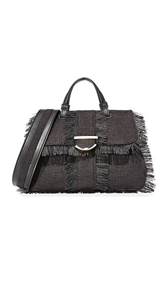 Cynthia Rowley Hudson Small Satchel - Black