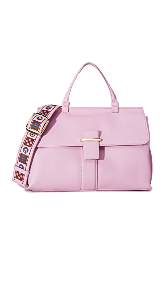 Cynthia Rowley Hudson Satchel - Pink