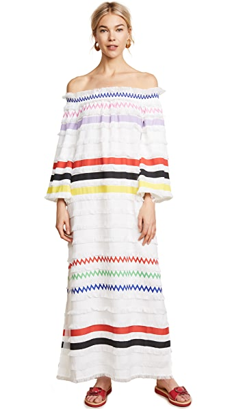 Cynthia Rowley Ditch Plains Fringe Maxi Dress at Shopbop
