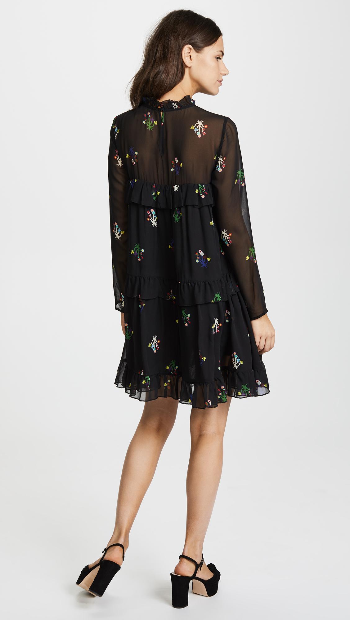 5d315d4effe Cynthia Rowley High Tide Tiered Dress