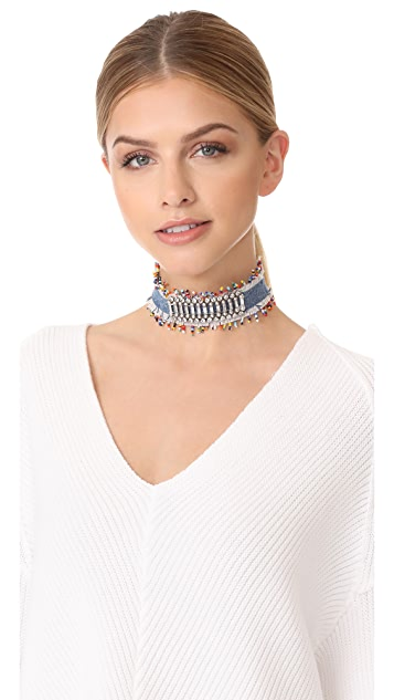 DANNIJO Birdie Choker Necklace