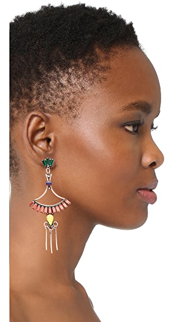 DANNIJO Cerise Earrings