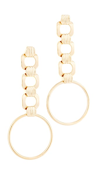 DANNIJO Naeem Earrings - Gold