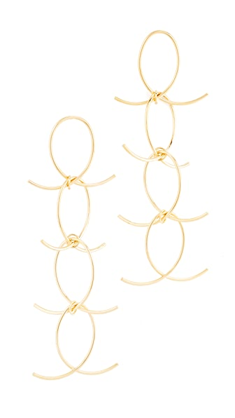 DANNIJO Alastair Earrings - Gold