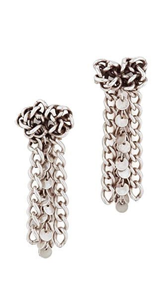DANNIJO Saeed Earrings - Ox Silver