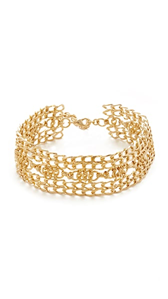DANNIJO Eula Choker Necklace - Gold