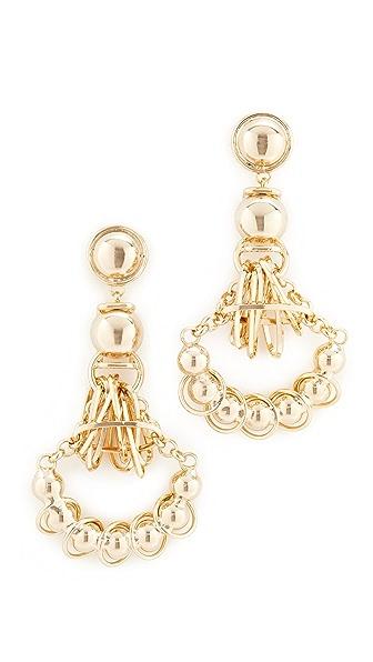 DANNIJO Ajax Earrings - Gold