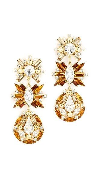 DANNIJO Saintey Earrings - Topaz