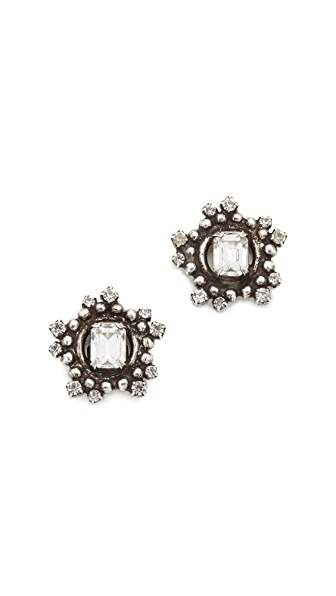 DANNIJO Solstice Earrings - Silver