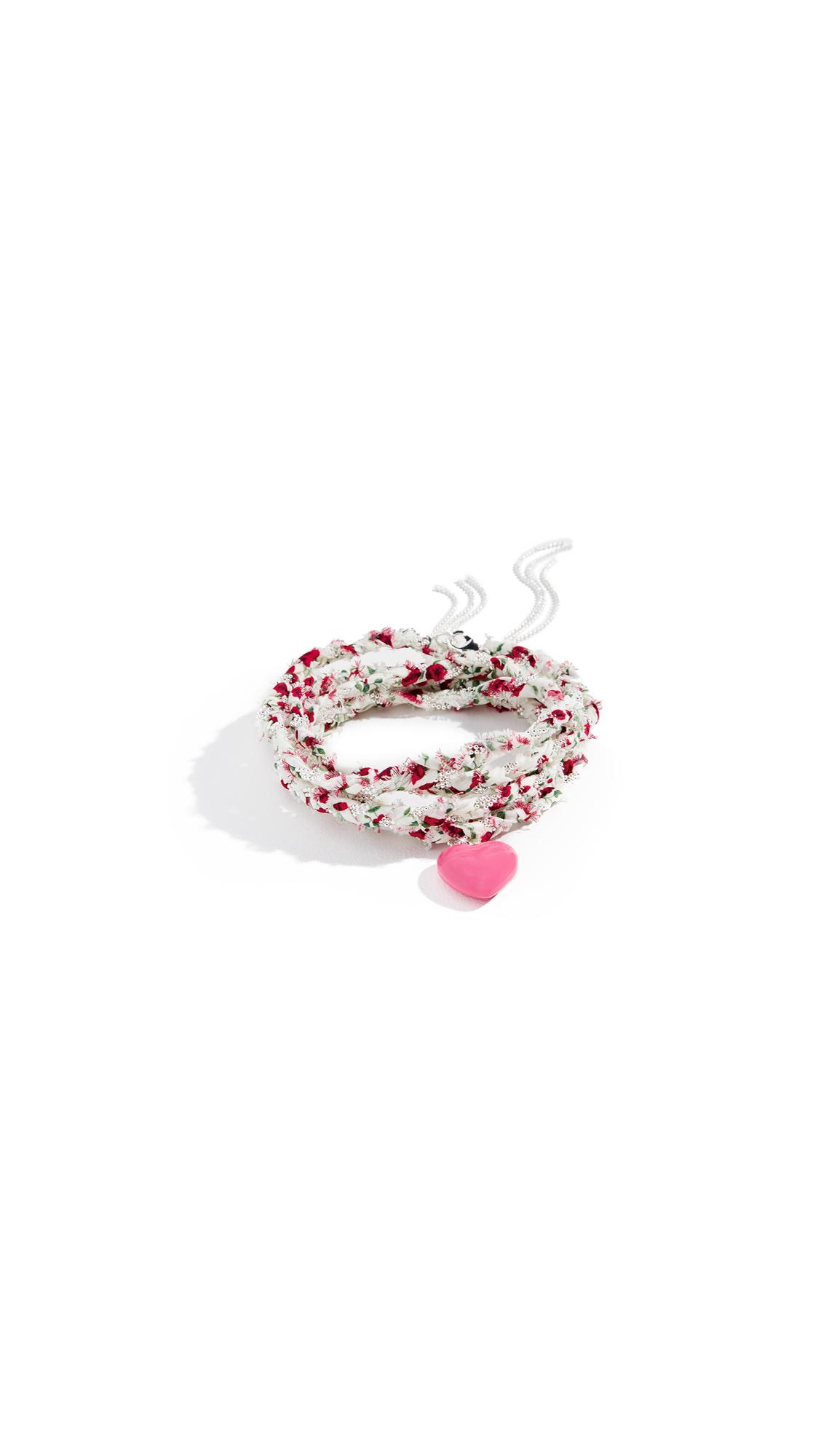 DANNIJO Wrap Bracelet In Pink