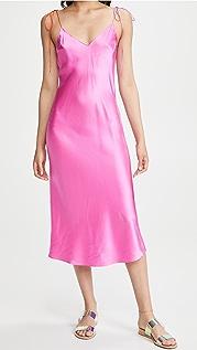 DANNIJO Tie Strap Midi Dress