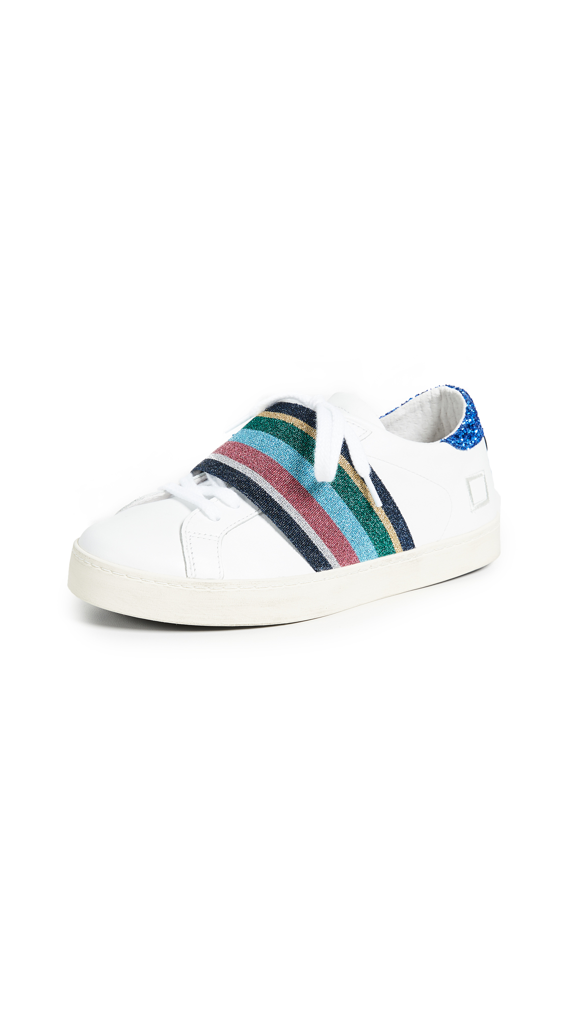D.A.T.E. Hill Pop Sneakers In Elastic