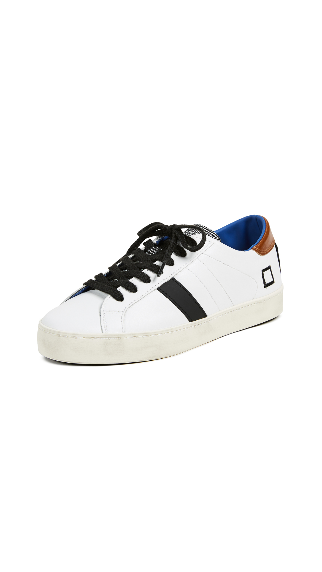 D.A.T.E. Hill Low Pop Sneakers - White