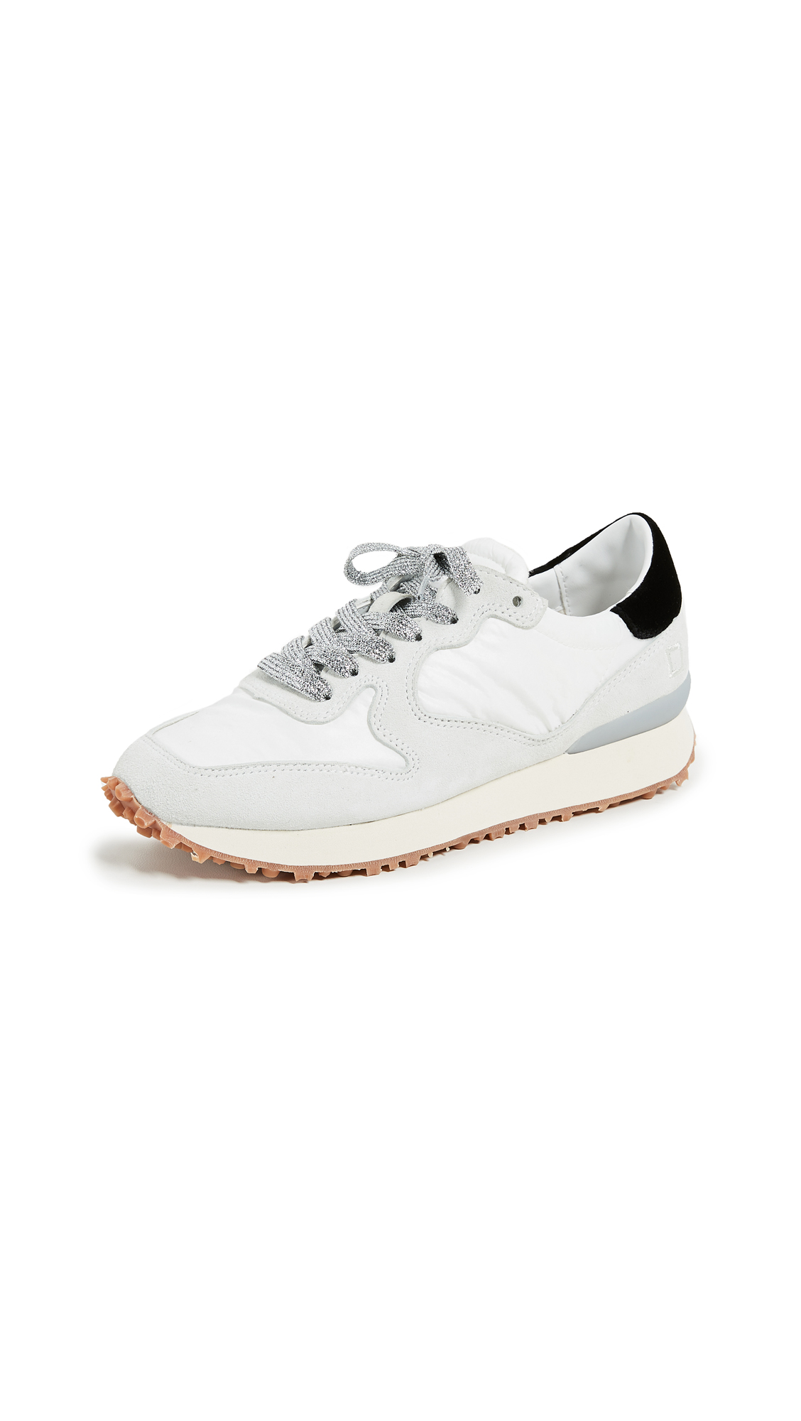 D.A.T.E. Spike Sneakers - White