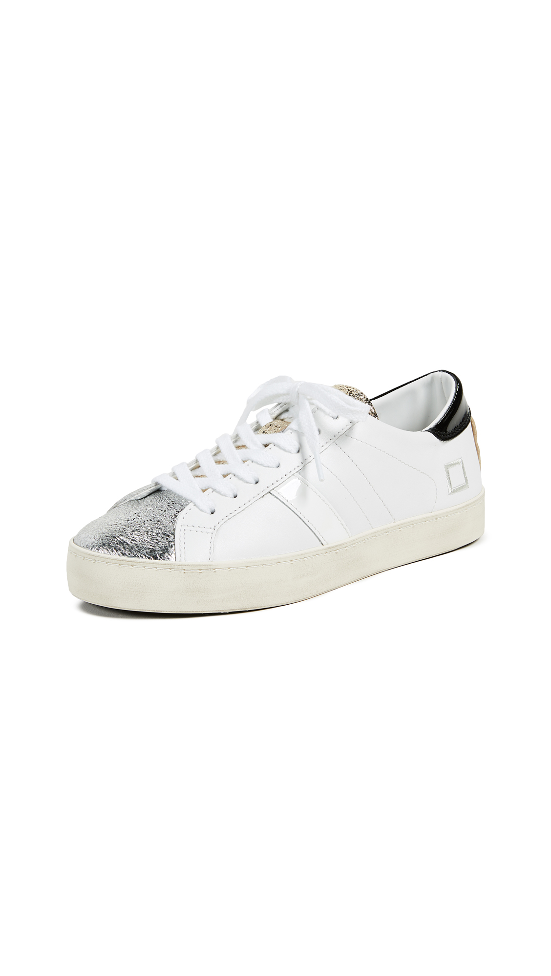 D.A.T.E. Hill Low Sneakers - Black/White
