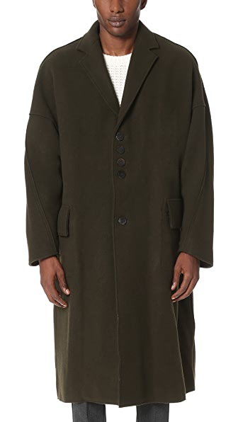 Damir Doma Copernico Heavy Felted Wool Coat