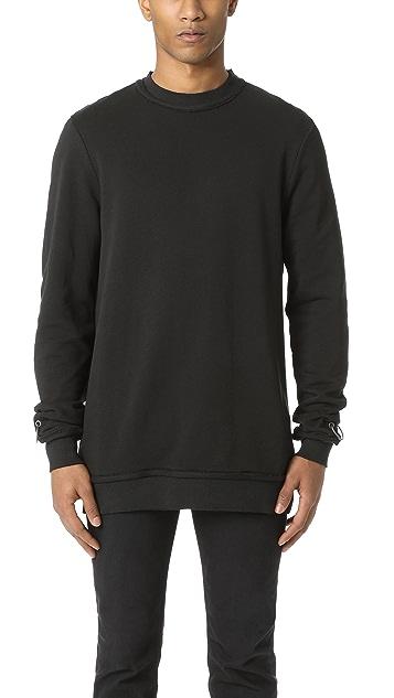Damir Doma Wim Heavy Jersey Crew Sweatshirt