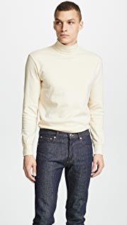 De Bonne Facture Long Sleeve Mock Neck Shirt